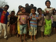 Kids at Sagnioniogo refugee camp, Burkina Faso
