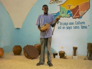 The musicial instrument museum in Niamey