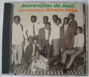 Maravillas de Mali CD Cover