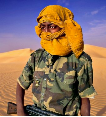 Touareg soldier