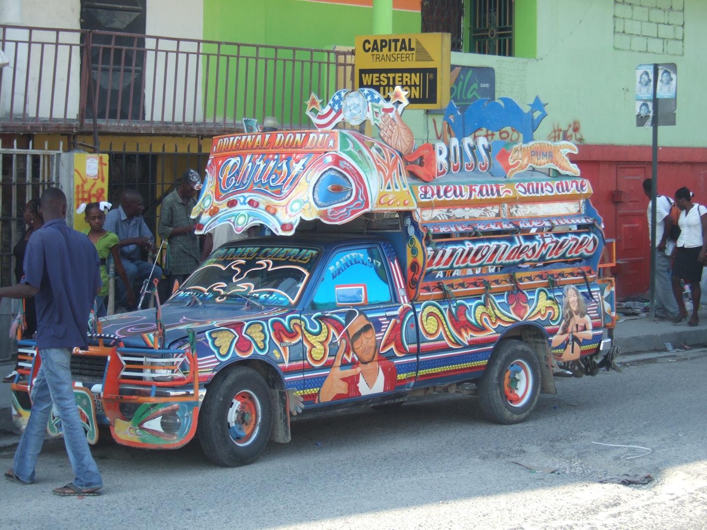 Haiti Tap Tap Magic Andy Morgan Writes