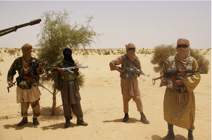 Islamist mujahedeen in northern Mali
