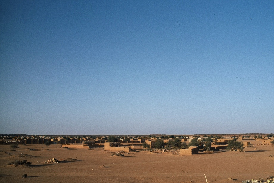 A panorama of Kidal in north