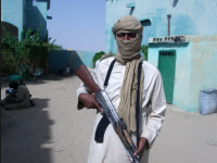A mujahid in northern Mali.
