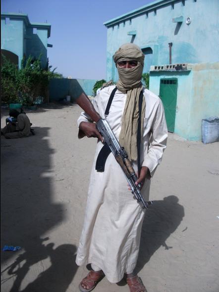 A mujahid in northern Mali.