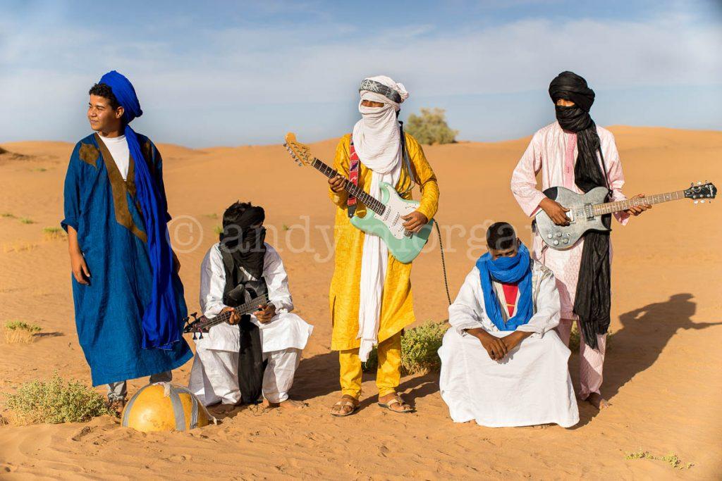 Les Jeunes Nomades near M'hamid el Ghizlane, Morocco