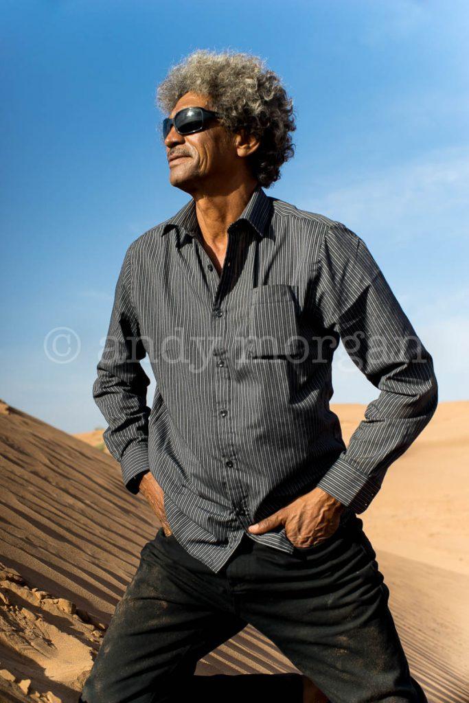 Ibrahim 'Abaraybone' Alhabib from Tinariwen
